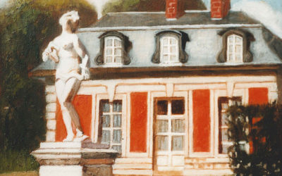 Maison A Versailles, france painting, #07