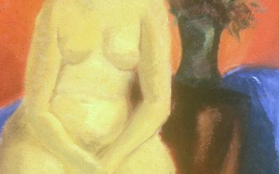 Nude IV (Ecole des Beaux Arts des Americains, Fountainebeau), france painting, #12