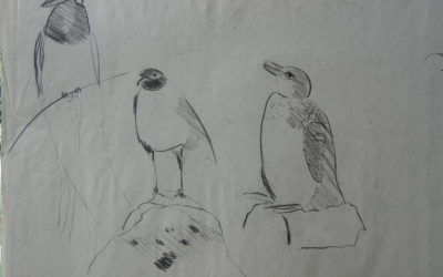 Charcoal Birds