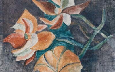 Rosanna with Tropical Plants