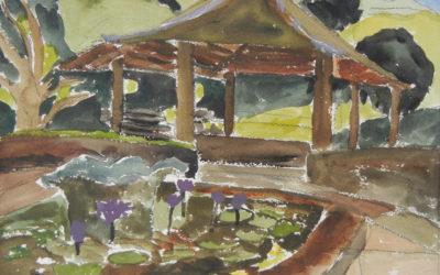 Pool and Pagoda