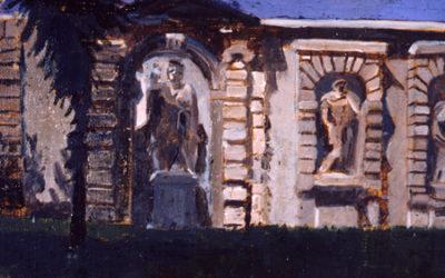Garden Screen of Roman Emperors