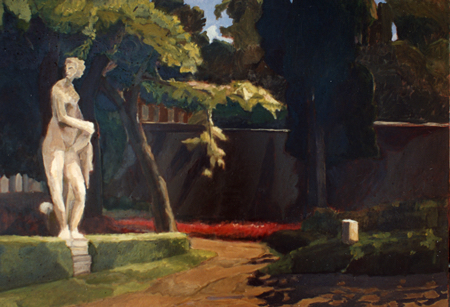 Roam through Italian Garden Paintings