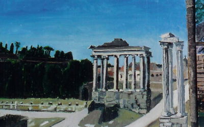 Temples to Saturn and Concordia
