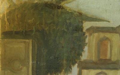 Plant and Church at Sorrento