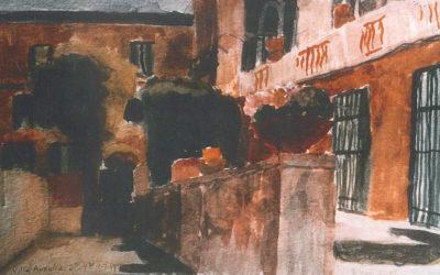 Terrace at Villa Aurelia