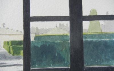Rainy Day at Villa Lante