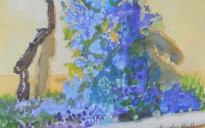 Medici Purple Flowers